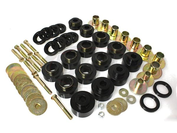 Body Mount Bushings Kit and Hardware - Hardtop