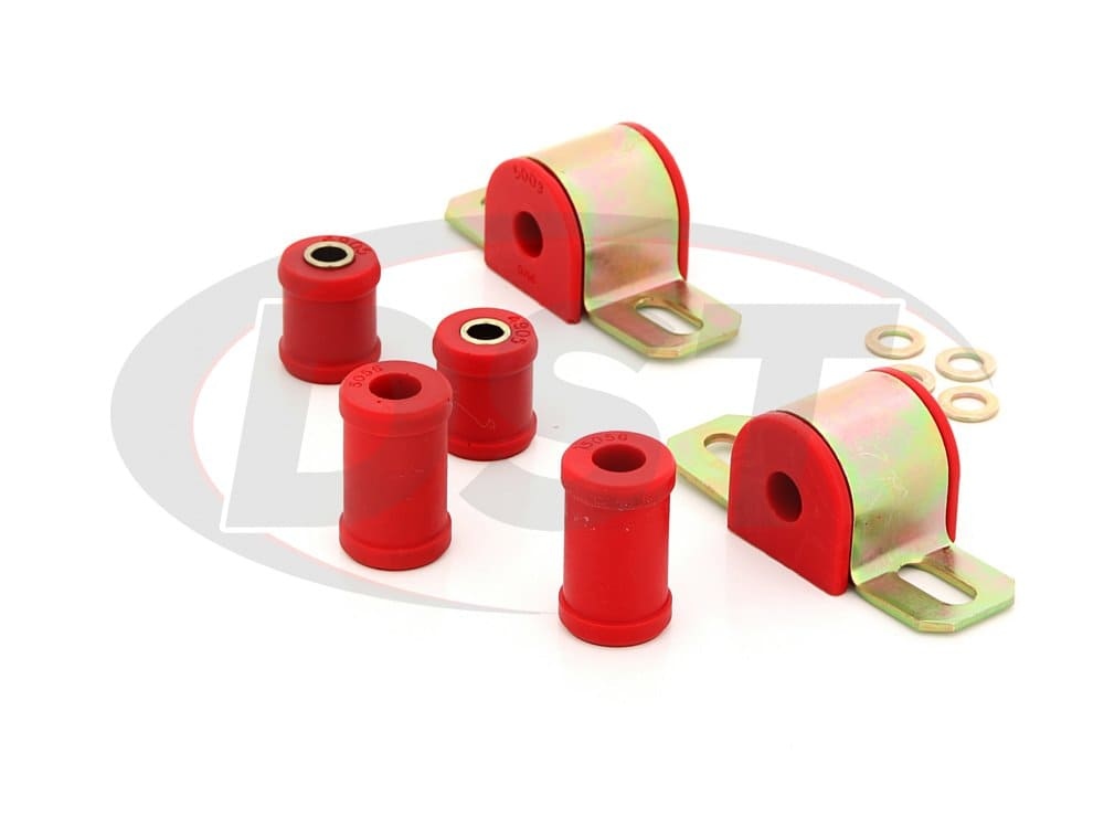 3.5103 Rear Sway Bar Bushings - 14.28mm (9/16 Inch) - 2 Bolt Style