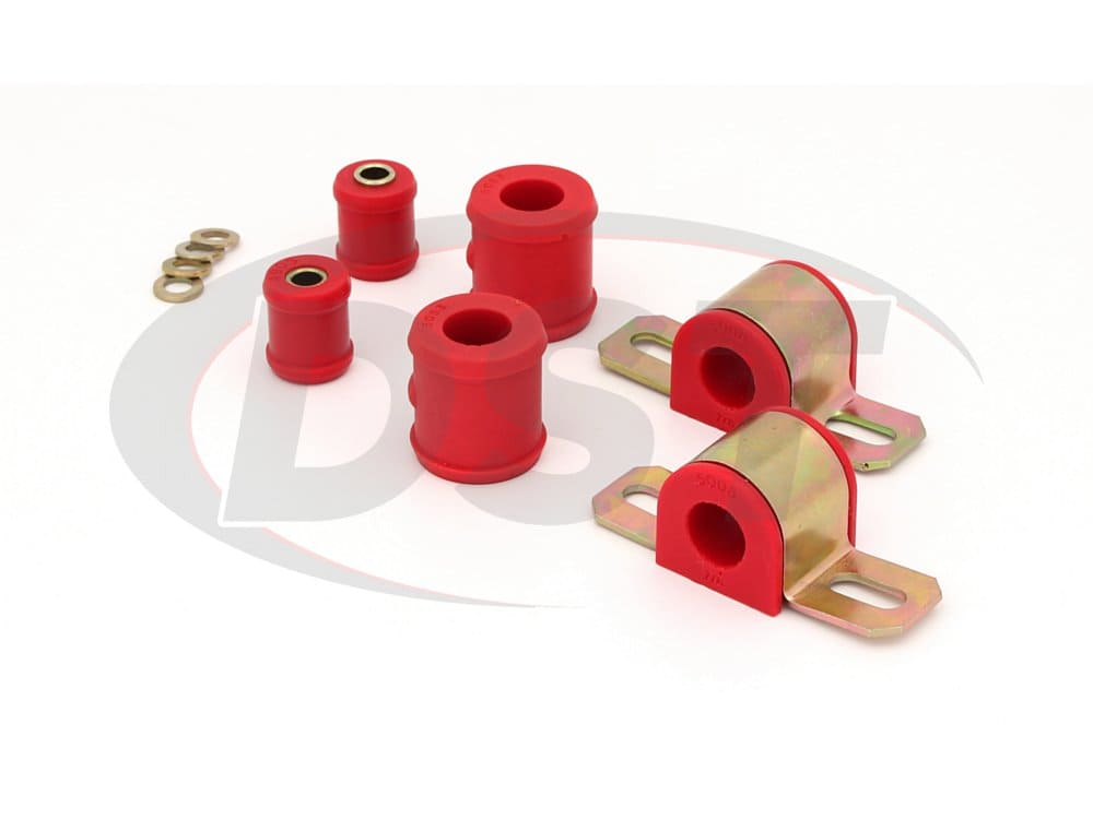 3.5111 Rear Sway Bar and End Link Bushings - 22.22mm (7/8 Inch) - 1 Bolt Clamp Style