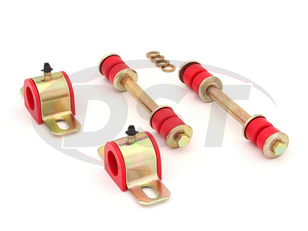 3.5122 Front Sway Bar Bushings and End Links - 26.9mm (1 1/16 inch)