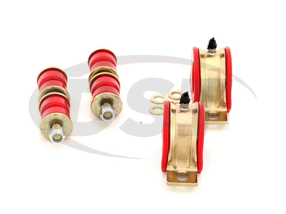 3.5207 Front Sway Bar Bushings and End Links - 33mm (1.29 inch)