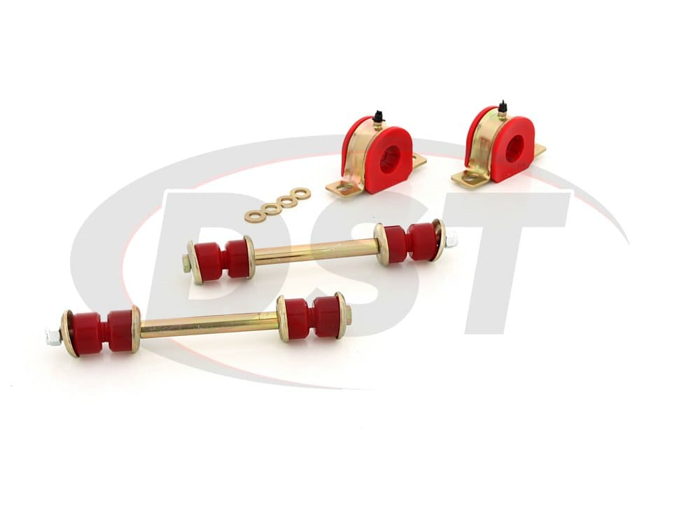 3.5222 Front Sway Bar Bushings - 28mm (1.10 inch) and End Links