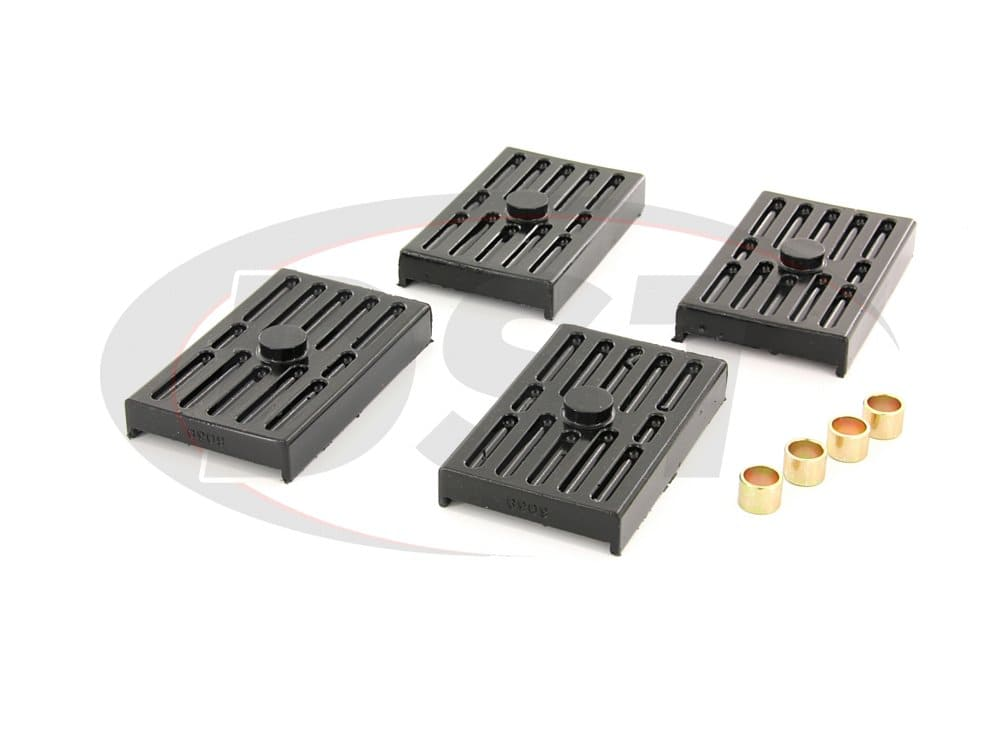 3.6112 Rear Leaf Spring Pads - Multi Leaf