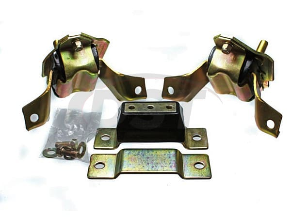 Motor and Tranny Mounts Combo 84-95 Mustang V8 - 5.0 Engine ONLY