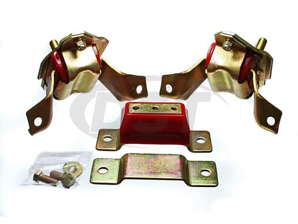 4.1124 Motor and Tranny Mounts Combo 84-95 Mustang V8 - 5.0 Engine ONLY