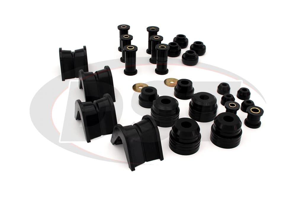 4.18107 Complete Suspension Bushing Kit - Ford F150 4WD 75-79 - (w/ 4 Degree C-Bushings)