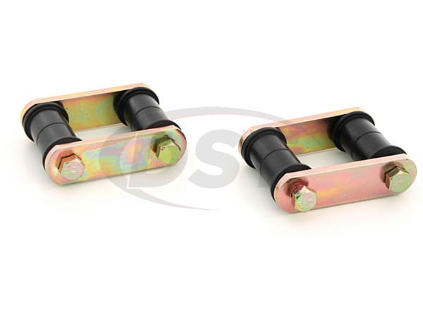 Rear Leaf Spring Shackle Set - Ford Mustang 64-73