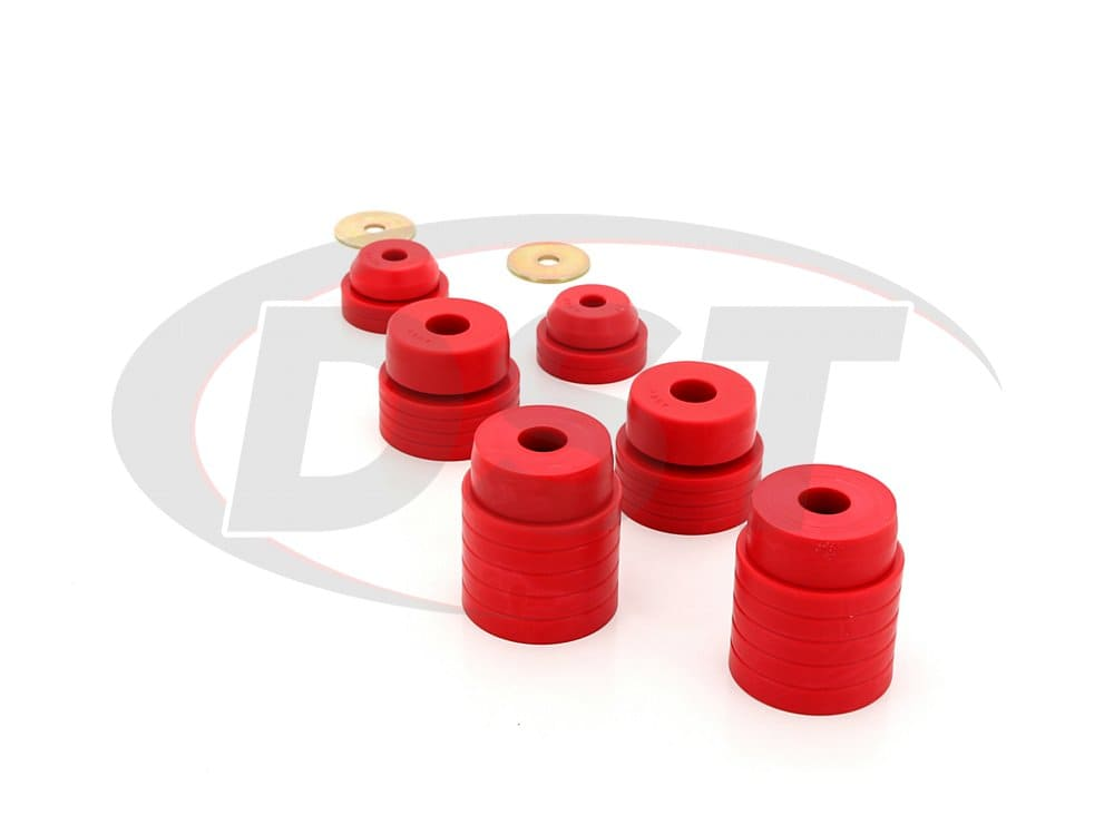 4.4107 Body Mount and Radiator Support Bushings
