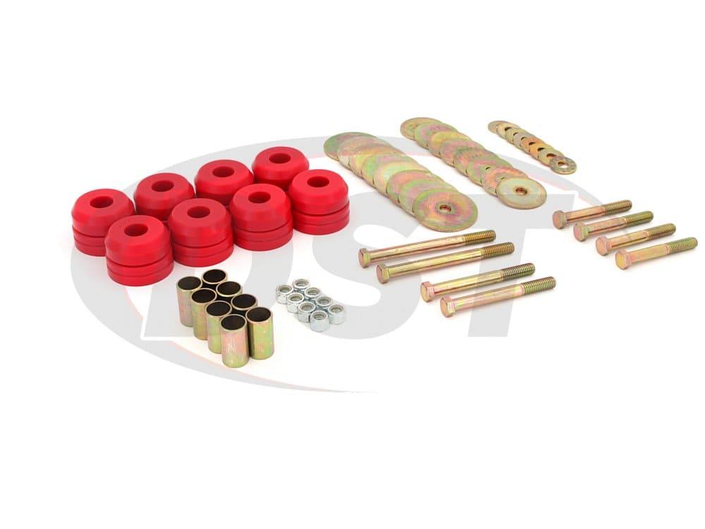 4.4110 Body Mount Bushings Kit and Mounting Hardware
