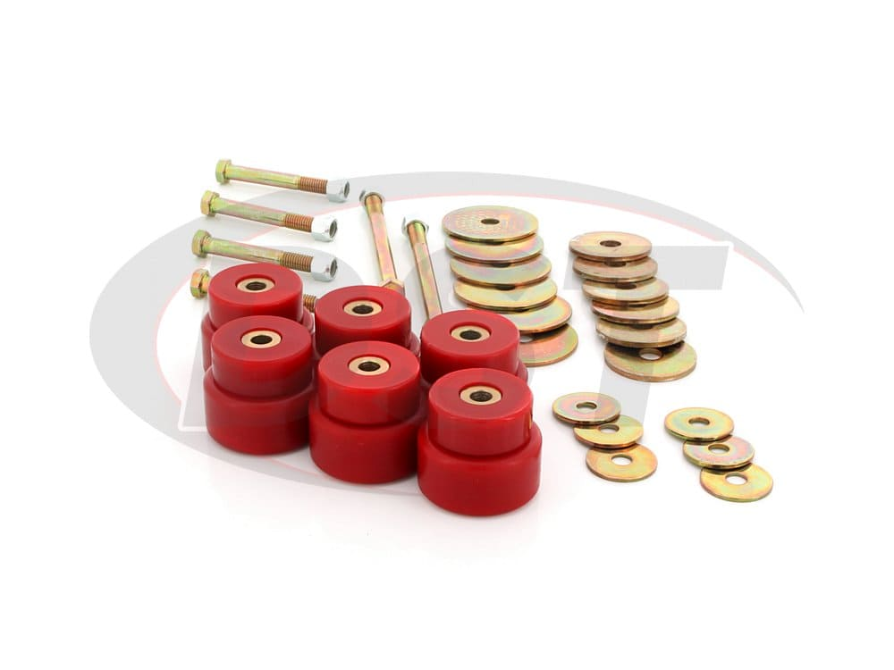 4.4113 Body Mount Bushings Kit - Standard Cab Models