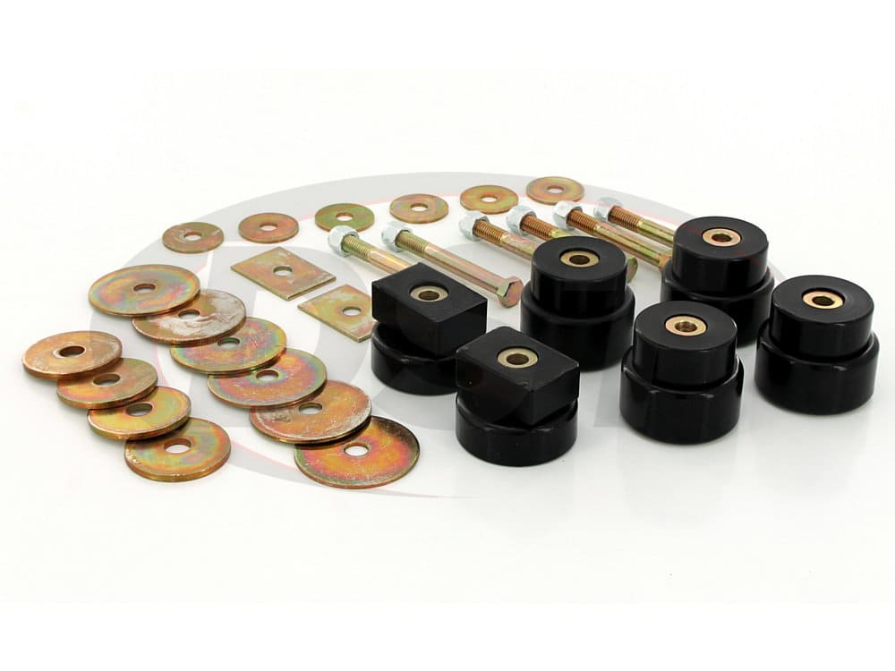 4.4114 Body Mount Bushings Kit - Extra Cab Models