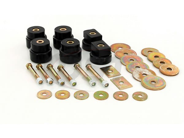 Body Mount Bushings Kit - Extra Cab Models
