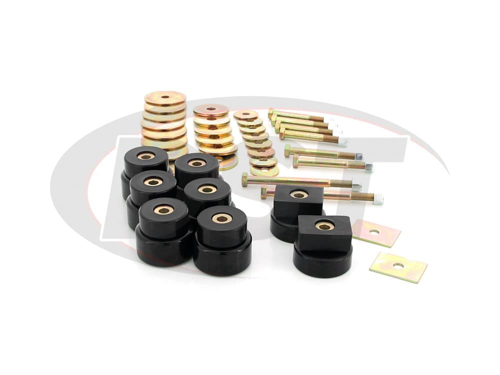 4.4115 Body Mount Bushings Kit - Crew Cab Models