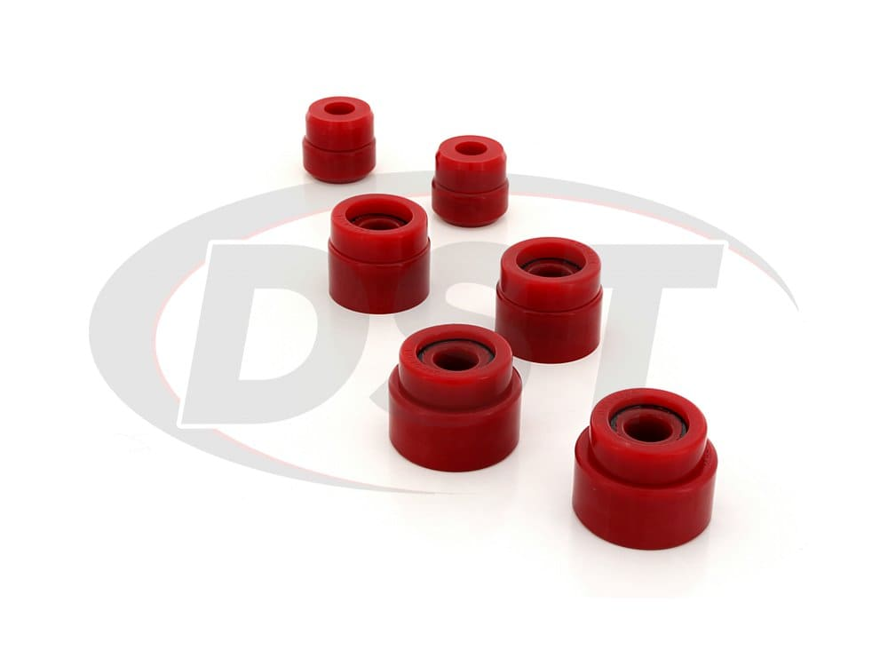 4.4121 Body Mount Bushings and Radiator Support Bushings - Regular and Super Cab