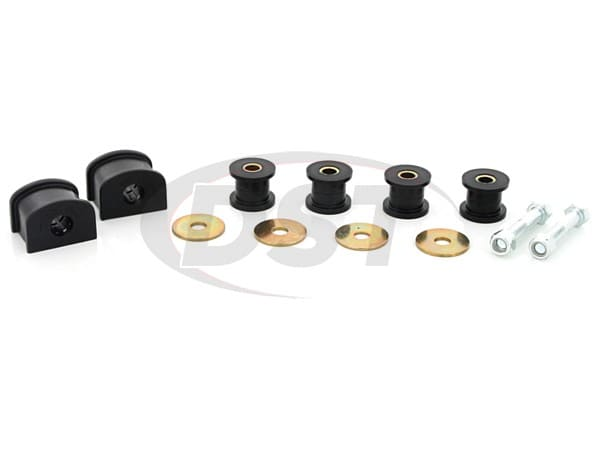 Complete Rear Sway Bar and End Link Bushings Set - 19mm (0.74 inch)
