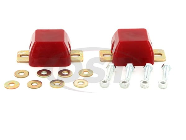 4.9103 Front Axle Bump Stops - 2 Inch - Pair