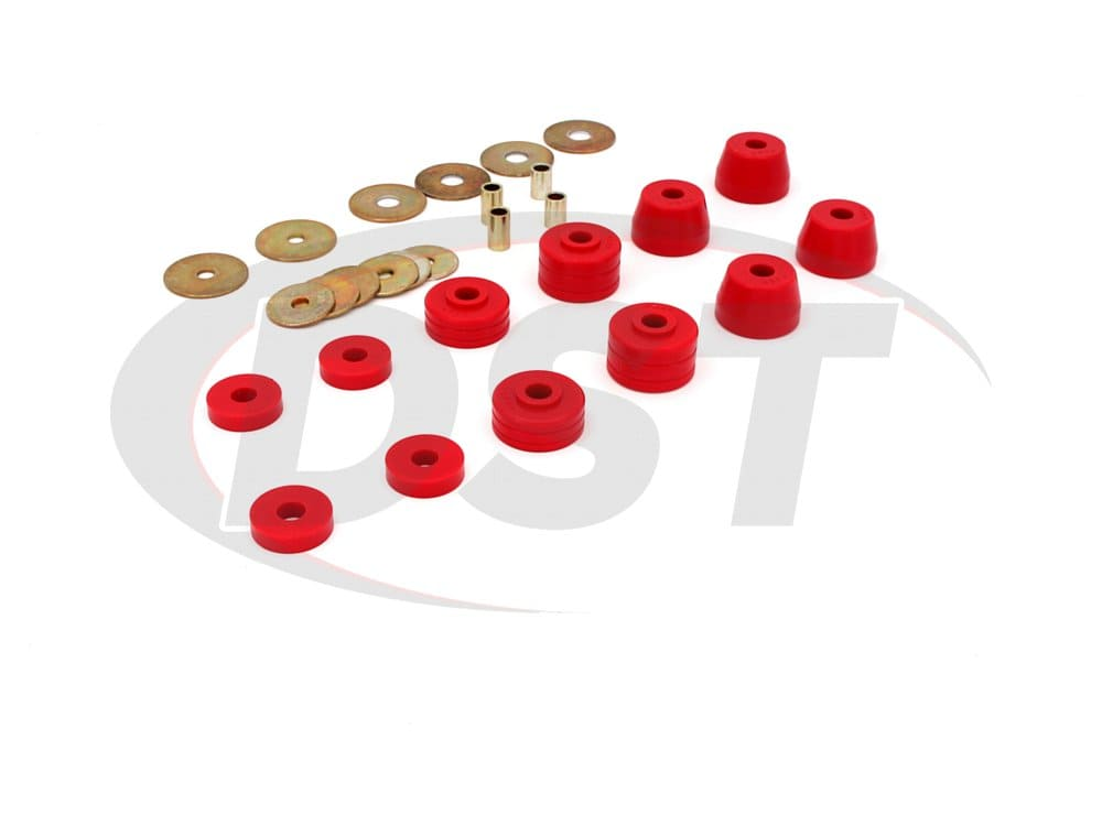 5.4101 Body Mount Bushings and Radiator Support Bushings 72-85 Pickup Only