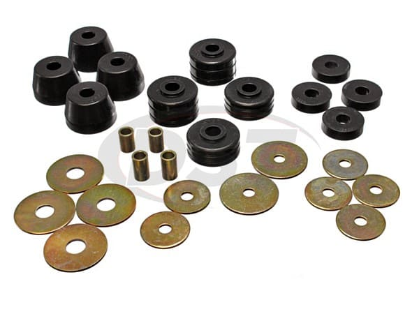 Body Mount Bushings and Radiator Support Bushings 72-85 Pickup Only