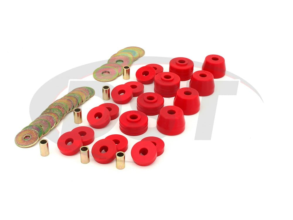 5.4102 Body Mount Bushings and Radiator Support Bushings - Ramcharger