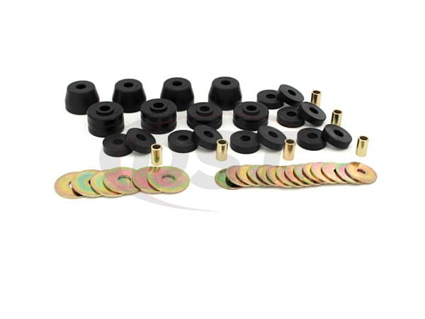Body Mount Bushings and Radiator Support Bushings - Ramcharger