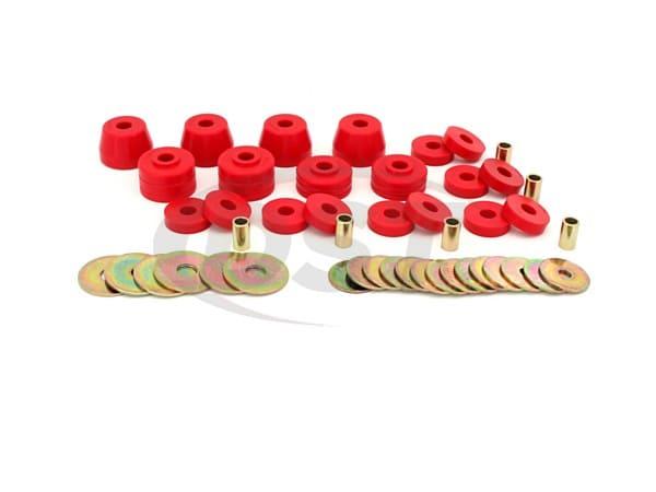 5.4102 Body Mount Bushings and Radiator Support Bushings - Ramcharger