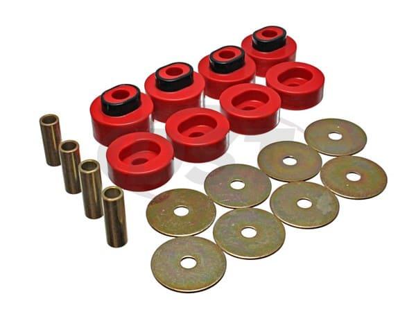 5.4111 Body Mount Bushings Kit - Subframe Insulators