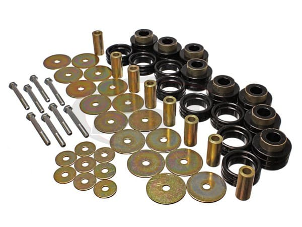 Body Mount Bushings Kit and Hardware - Extended Cab
