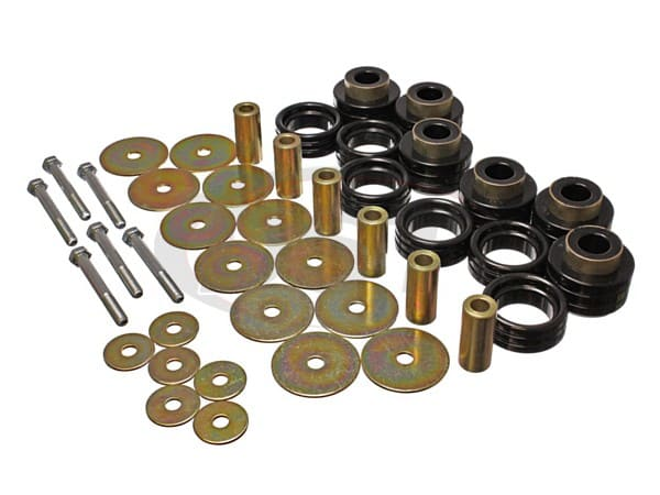 Body Mount Bushings Kit AND Hardware - Standard Cab