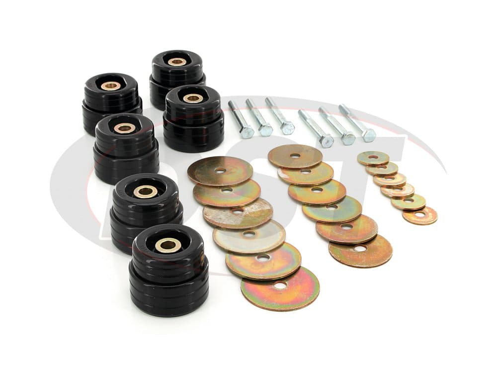 5.4116 Body Mount Bushings and Hardware Kit