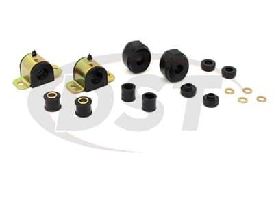 Energy Suspension Sway Bar Bushings for D100, D100 Pickup, D200, D200 Pickup, D300, D300 Pickup, Ramcharger