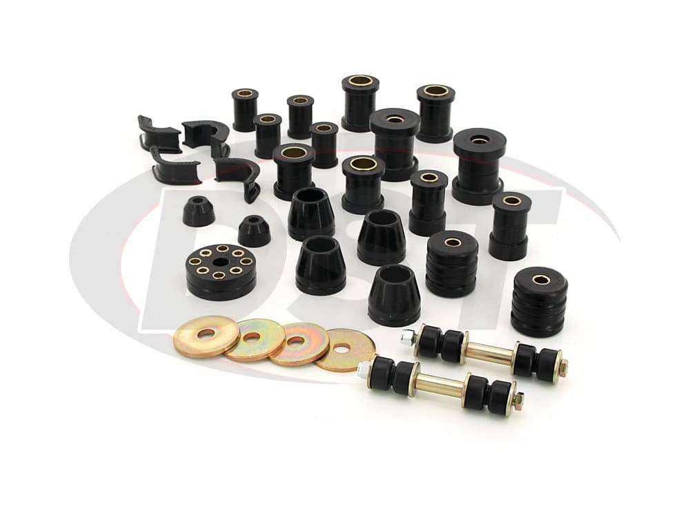 7.18101 Complete Suspension Bushing Kit - Nissan 240Z 70-73