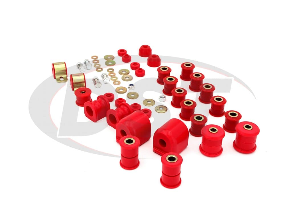 7.18104 Complete Suspension Bushing Kit - Nissan NX and Sentra 91-94