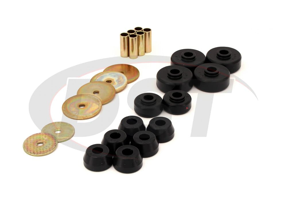 8.4101 Body Mount Bushings and Radiator Support Bushings
