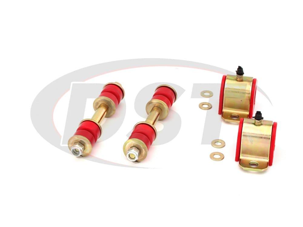 Energy Suspension 8.5123R Suspension Stabilizer Bar Bushing Kit