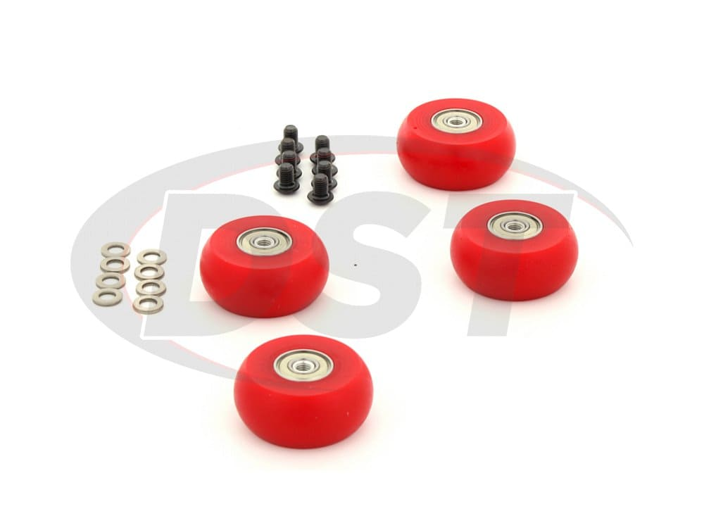 9.9169 Hyperglide Creeper Wheels - 2 inch / 50mm Wheel - 4 Pack