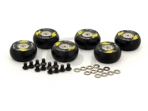 Hyperglide Creeper Wheels - 2 inch / 50mm Wheel - 6 Pack