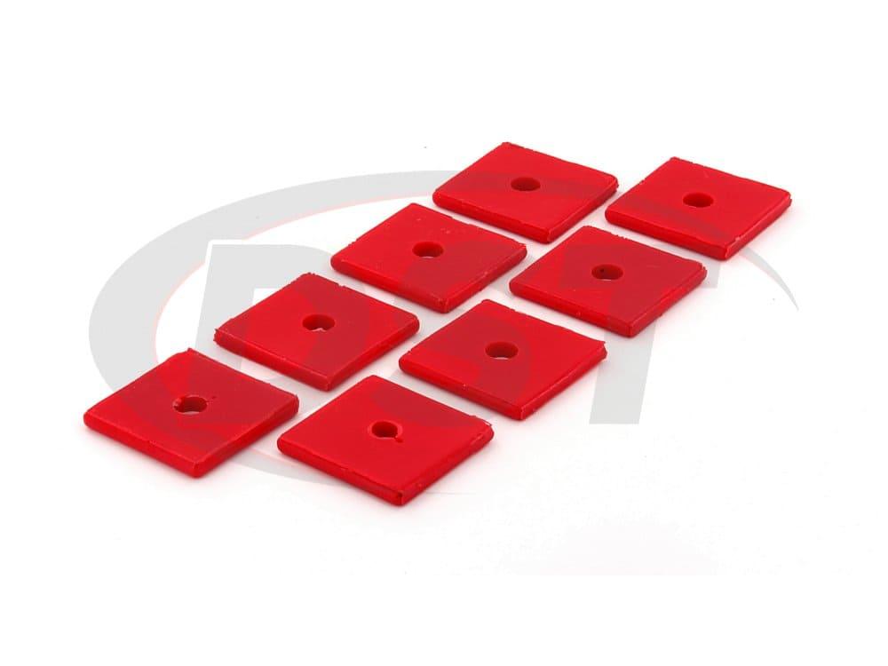 9.9533 Polyurethane Pad Set - Square