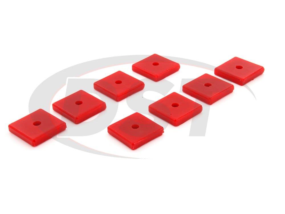 9.9534 Polyurethane Pad Set - Square