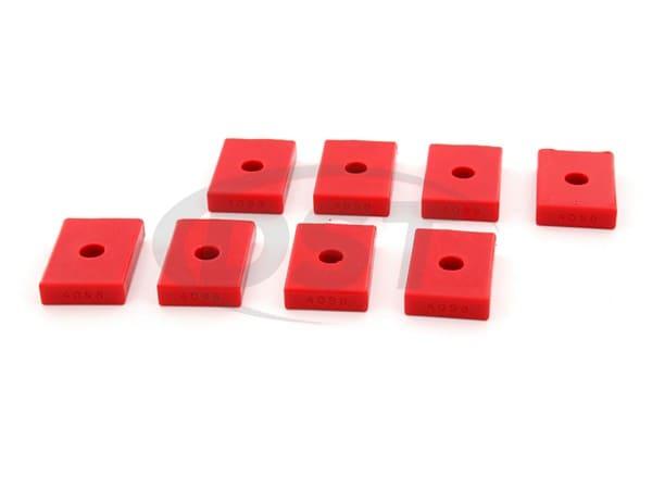 9.9536 Polyurethane Pad Set - Rectangle