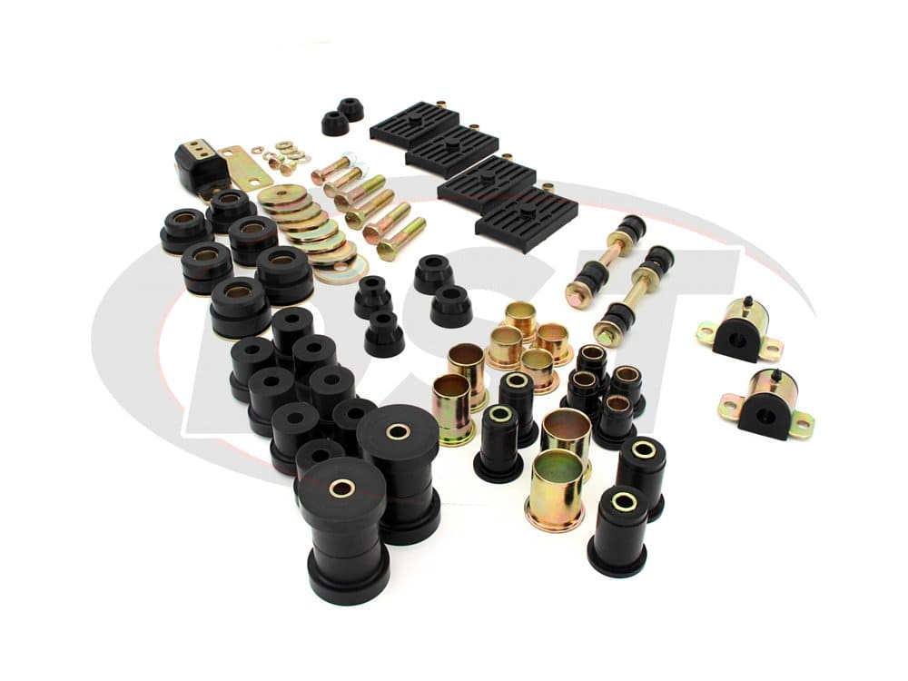 packagedeal004 Complete Suspension Bushing Kit - Chevrolet Chevy II and Nova - Multi-Leaf Version