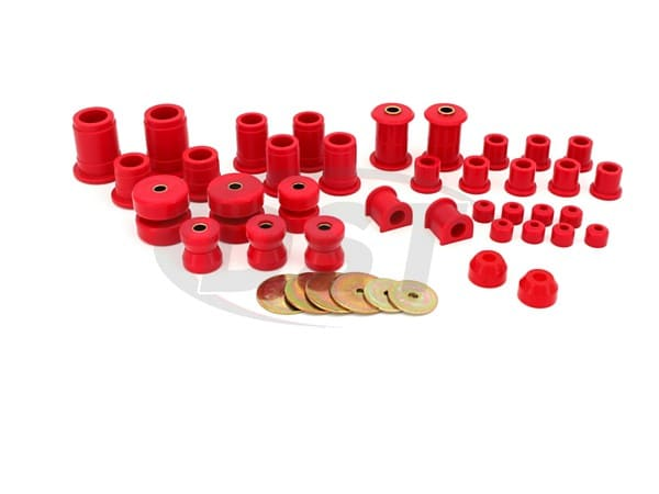 packagedeal008 Complete Suspension Bushing Kit - Toyota Pickup 4WD 86-88