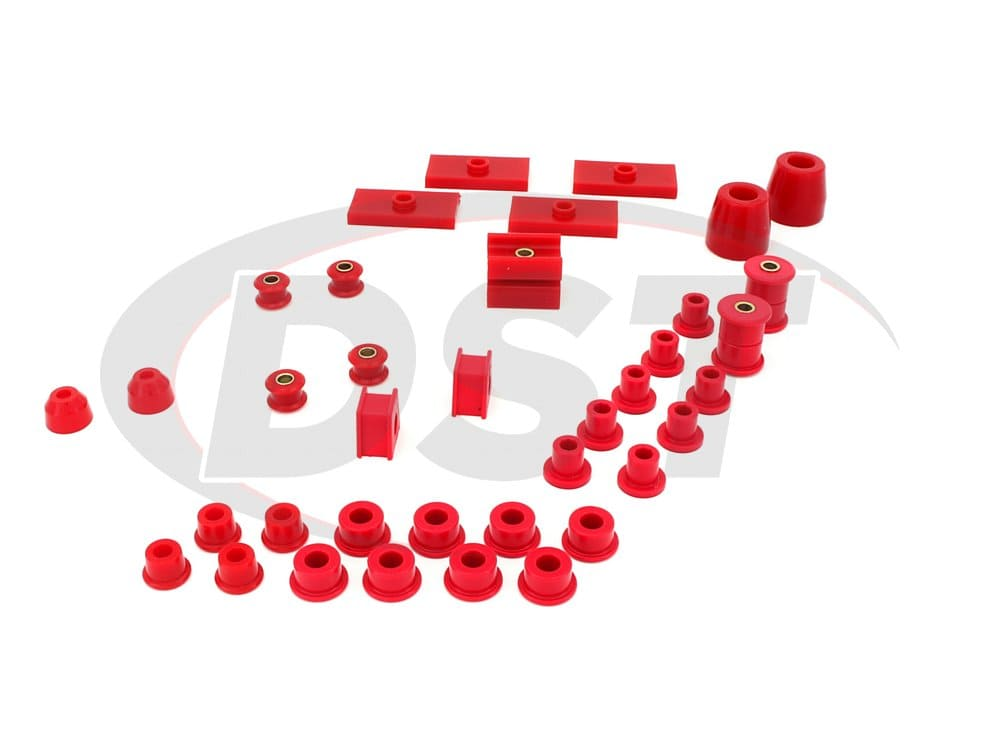 packagedeal023 Complete Suspension Bushing Kit - MGB 62-80
