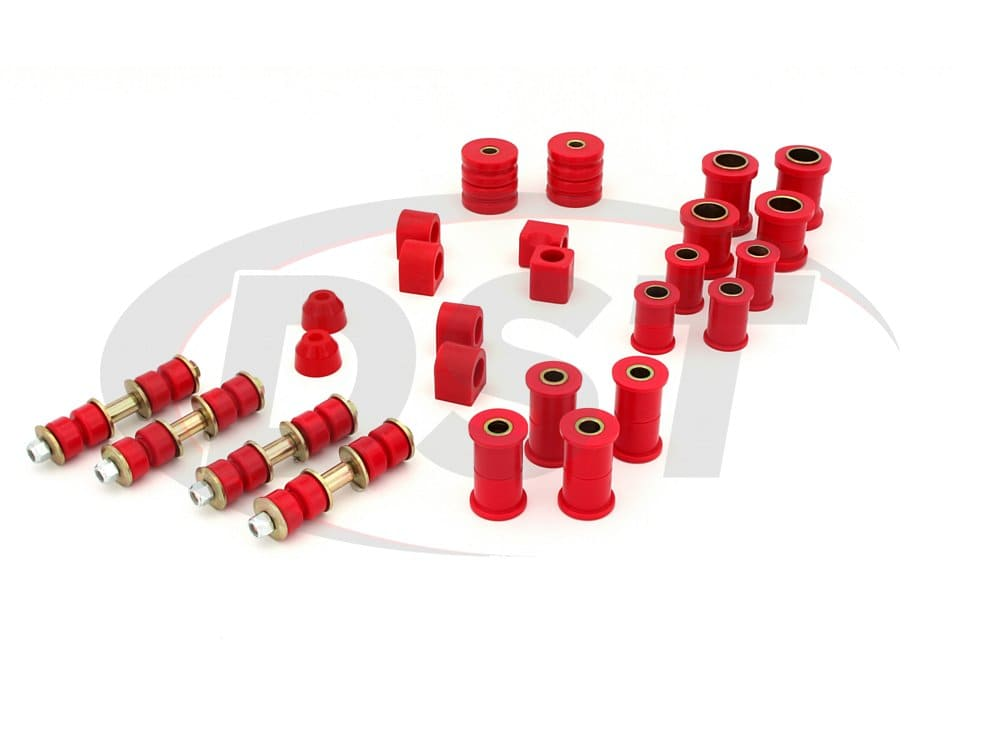packagedeal026 Complete Suspension Bushing Kit - Pontiac Firebird/Trans Am 80-81