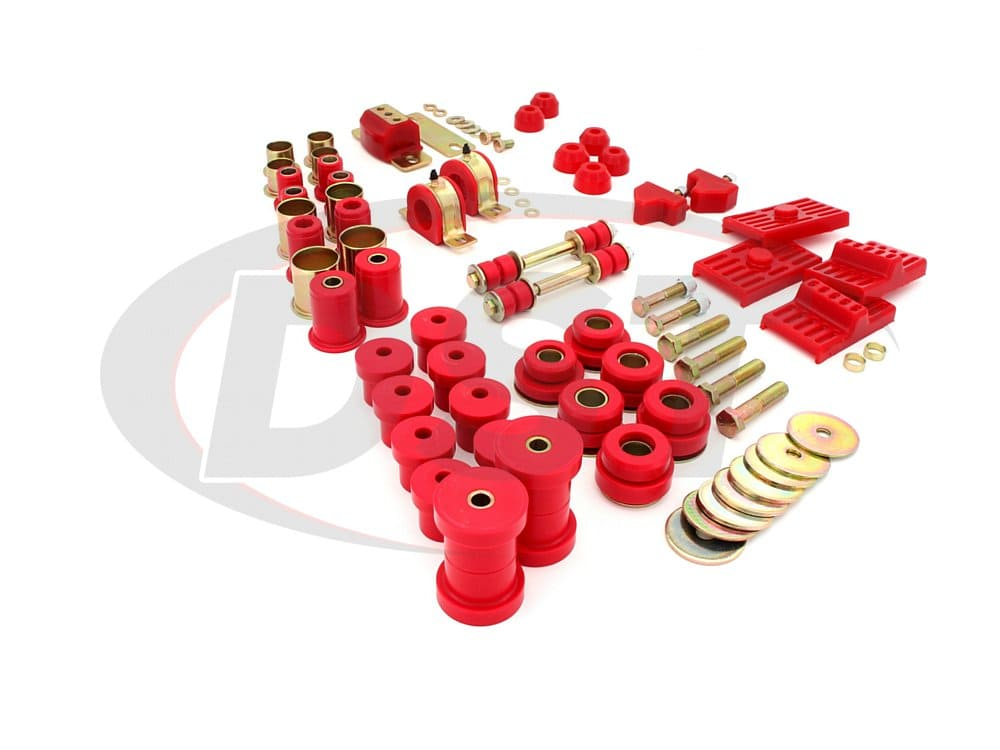 packagedeal043 Complete Suspension Bushing Kit - Pontiac Firebird 73
