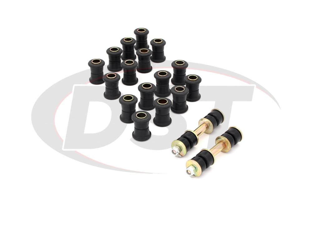 packagedeal072 Complete Suspension Bushing Kit - AC Shelby Cobra 62-67
