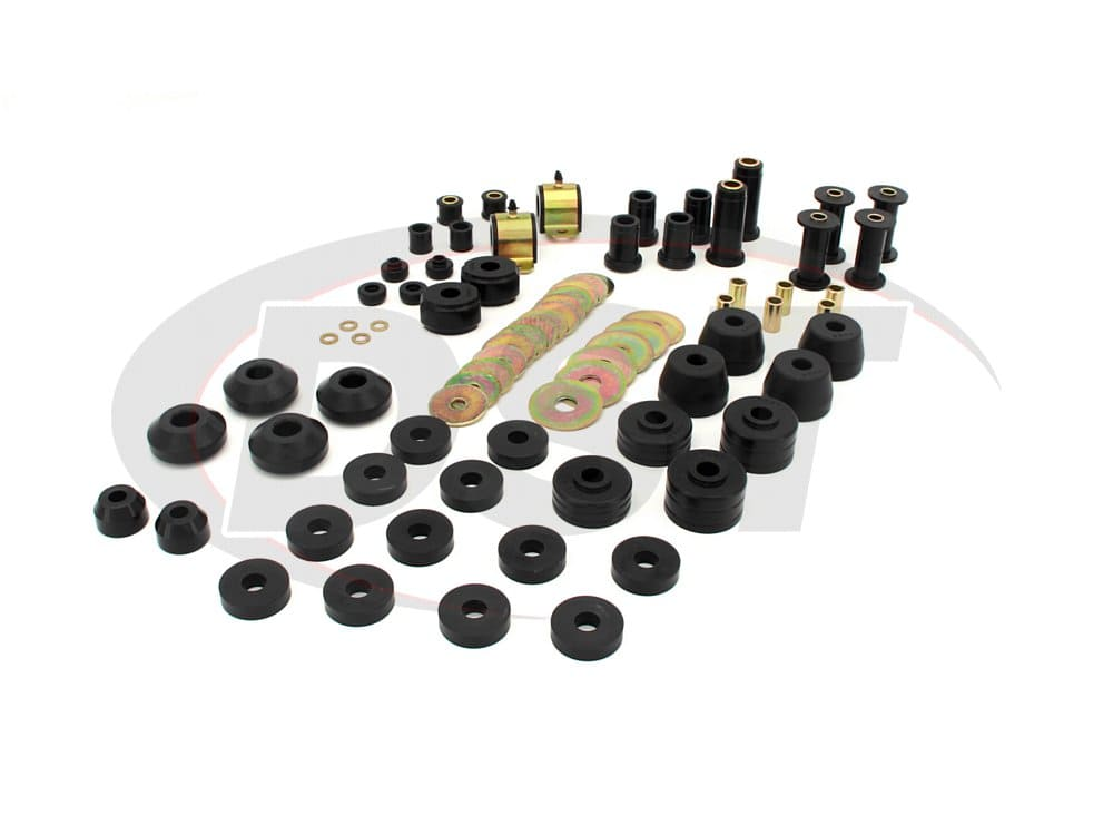 packagedeal110 Complete Suspension Bushing Kit - Dodge Ramcharger 2WD 74-93