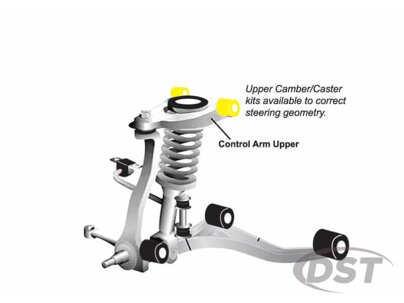 kca371 Front Upper Control Arm Bushings - Inner Position