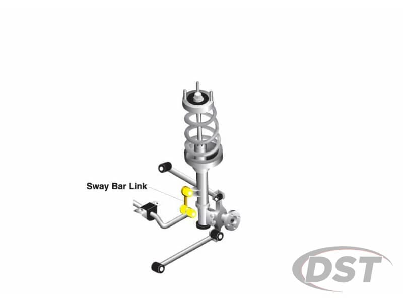 klc163 Front Sway Bar End Link Kit - Adjustable 270-295mm