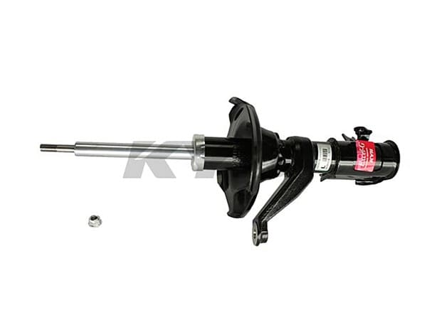Front Shock Assembly - Standard Replacement - Driver Side - Non Si - Hybrid