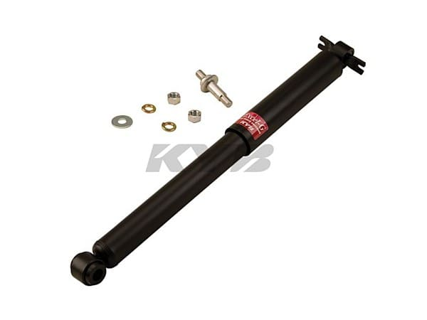 Rear Shock Assembly - Standard Replacement - Station Wagon and Heavy Duty Suspension Models